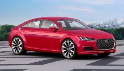 Audi TT сменя формата: моделът ще се превърне в купе с четири врати