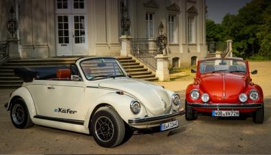 Преоборудваха класическия Volkswagen Beetle в електрически автомобил