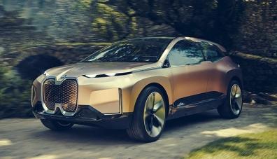 Дизайнът на новия електрически кросоувър на BMW вече не е тайна