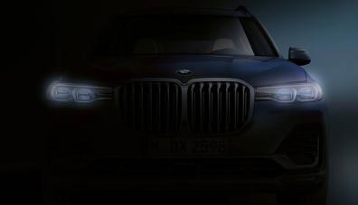 BMW публикува първото изображение на X7 без камуфлаж