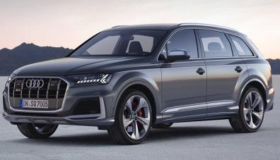 Audi представи обновения кросоувър SQ7
