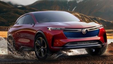 Пекин 2018: Електрическият кросоувър Buick може да измине 600 км без презареждане