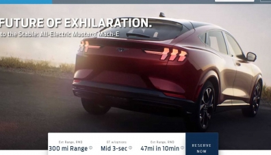 Електрическият кросоувър Ford Mustang Mach-E бе разкрит преди премиерата