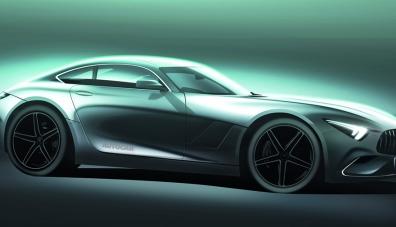 Следващият Mercedes-AMG GT ще се превърне в хибрид с пълно задвижване